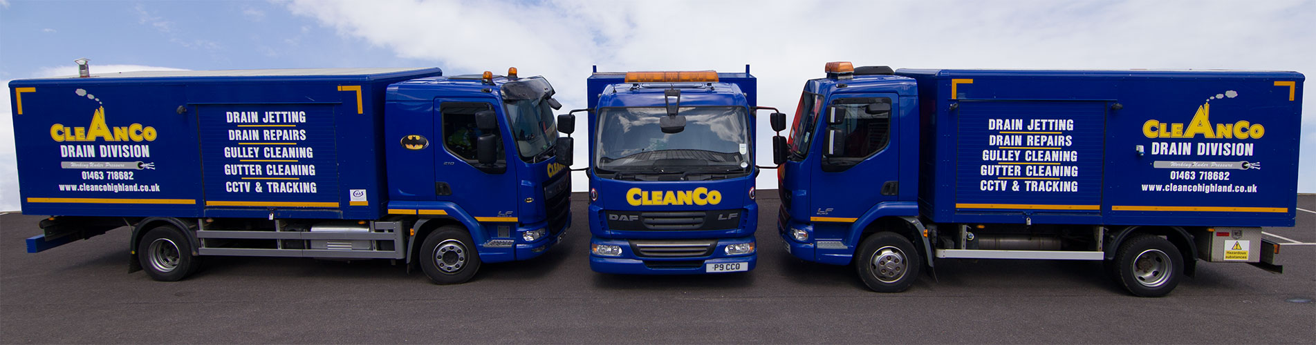 CleanCo Inverness Highland Vehicle Fleet