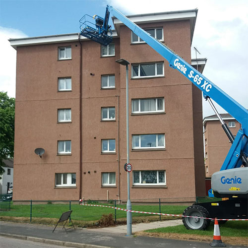 Gutter Cleaning Inverness at Height CleanCo Highland